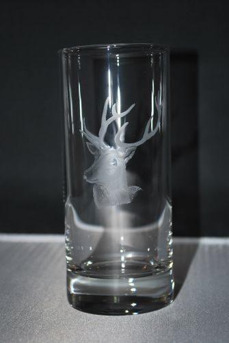 Hirschkopf Glaskollektion