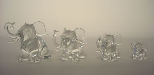 Borosilikat-Tiere