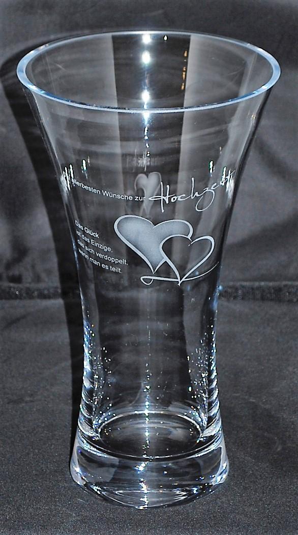 Hochzeits- Foto- und Textgravur Menü- oder Speisekarte in Glas graviert Ihre