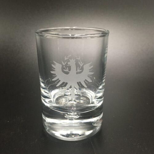 Schnapsglas Tiroler Adler