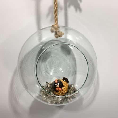 Dekorationskugeln aus Glas